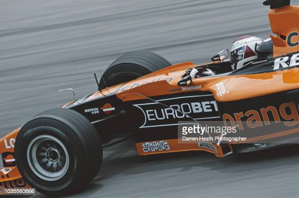 Jos Verstappen of the Netherlands drives the Arrows F1 Team Arrows A21 Supertec V10 during the Formula One Austrian Grand Prix on 16 July 2000 at the...