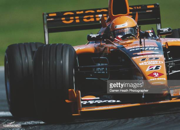 Jos Verstappen of the Netherlands drives the Arrows F1 Team Arrows A21 Supertec V10 during the Formula One Canadian Grand Prix on 18 June 2000 at the...