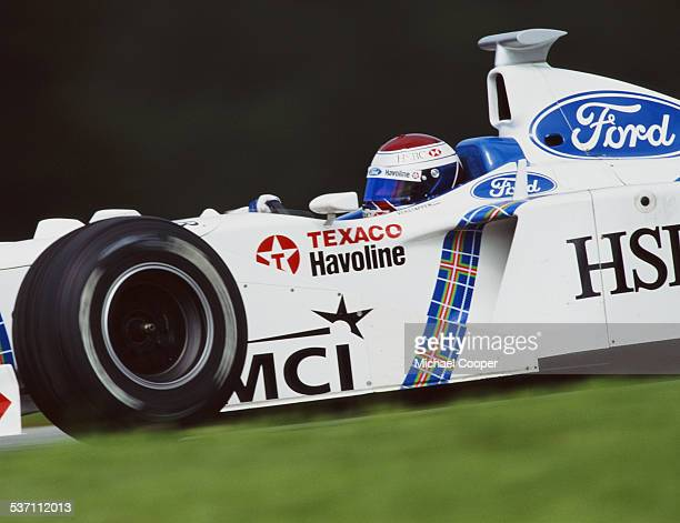 Jos Verstappen of the Netherlands drives the Stewart Ford Stewart SF02 Ford V10 during the Austrian Grand Prix on 26th July 1998 at the A1 Ring in...