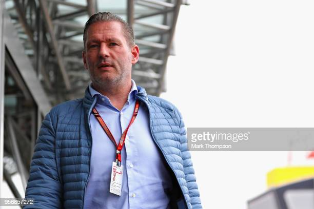 Jos Verstappen walks in the Paddock during previews ahead of the Spanish Formula One Grand Prix at Circuit de Catalunya on May 10 2018 in Montmelo...