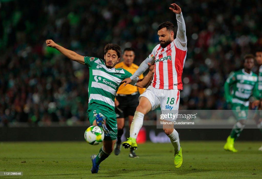MEX: Santos Laguna v Necaxa - Torneo Clausura 2019 Liga MX