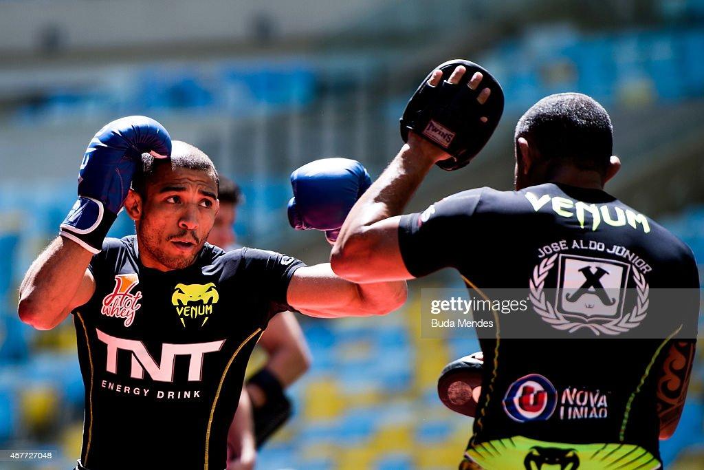 UFC 179 Open Workouts : News Photo