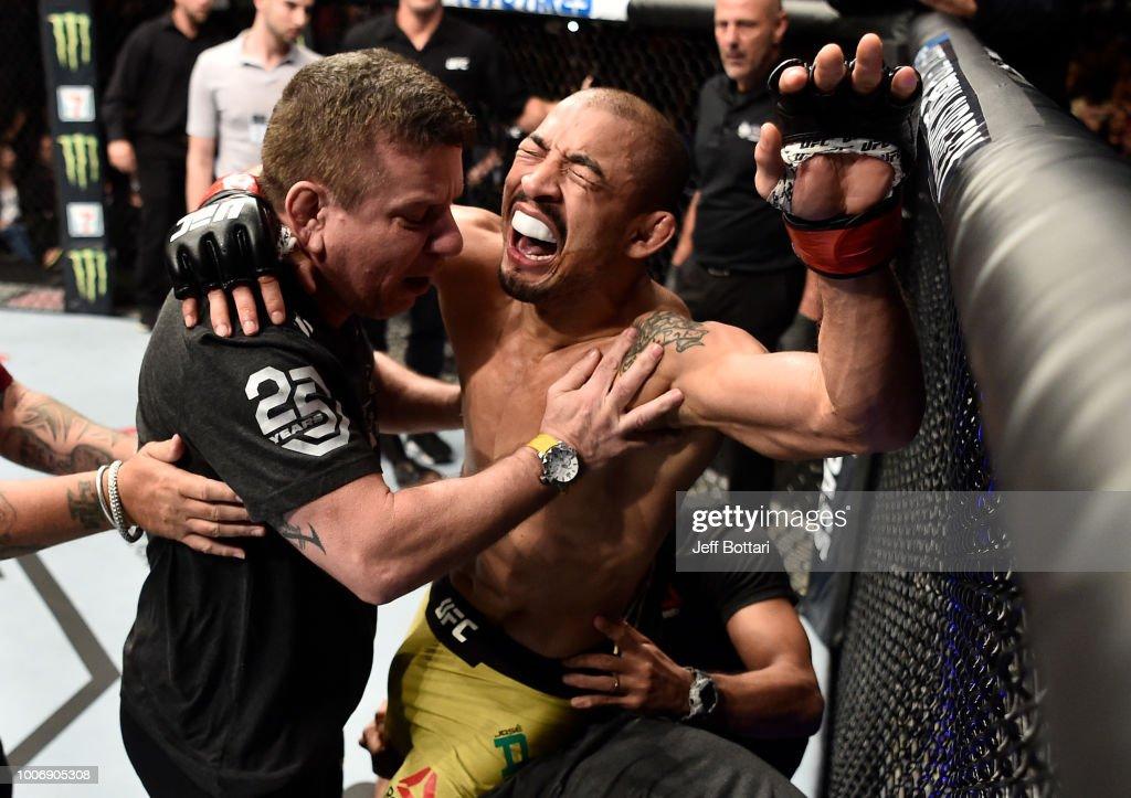 UFC Fight Night: Aldo v Stephens : News Photo