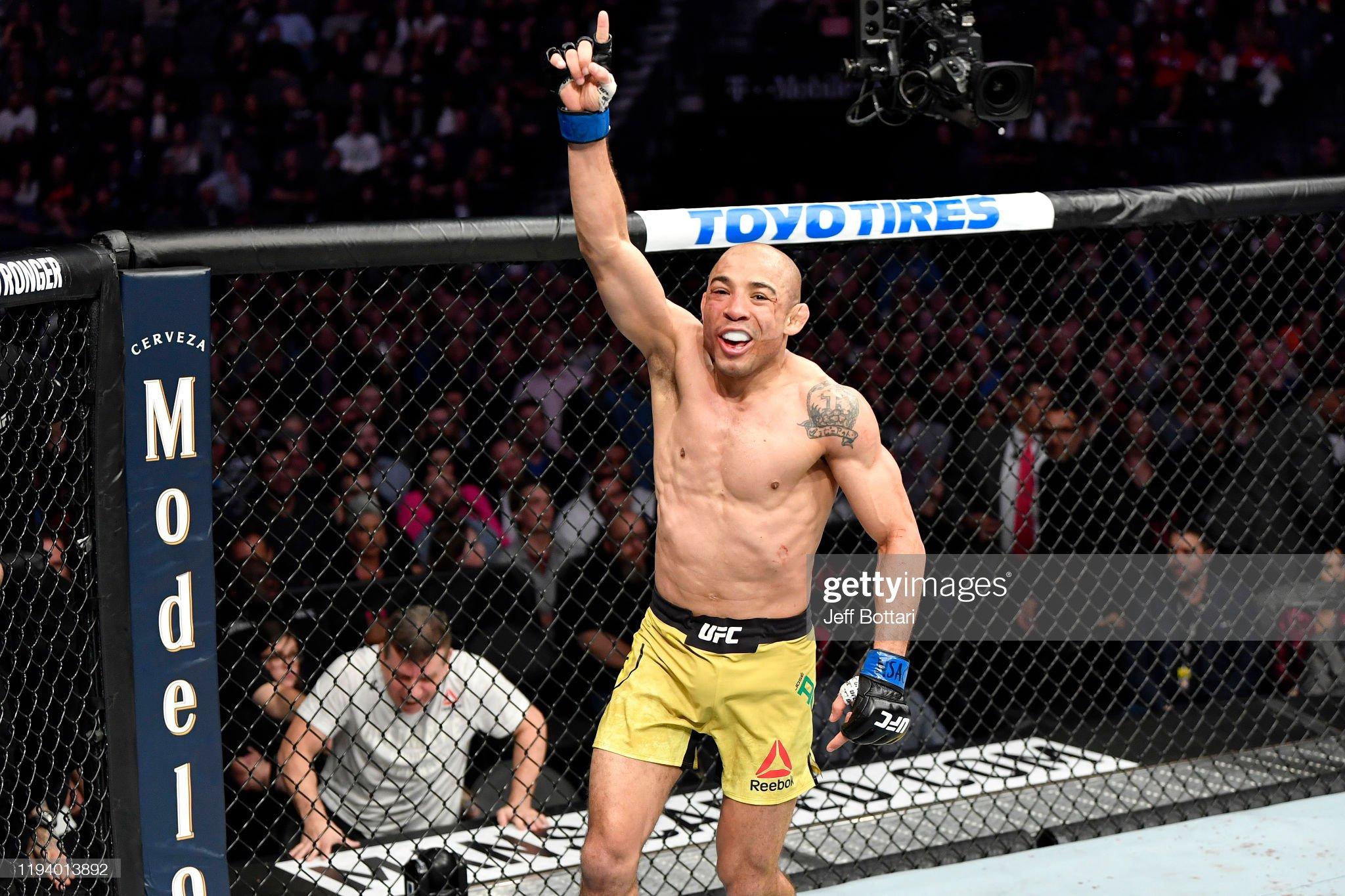 UFC 245: Moraes v Aldo : News Photo