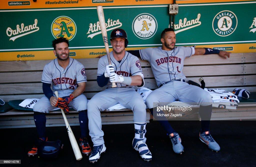 Houston Astros  v Oakland Athletics : ニュース写真