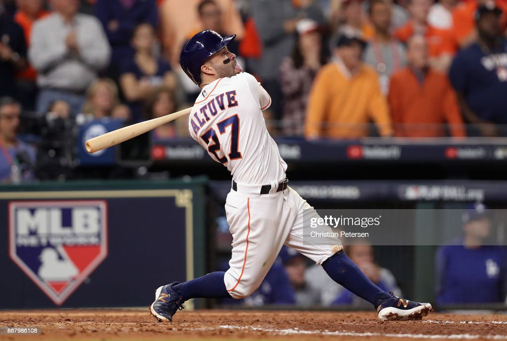 World Series - Los Angeles Dodgers v Houston Astros - Game Five : News Photo