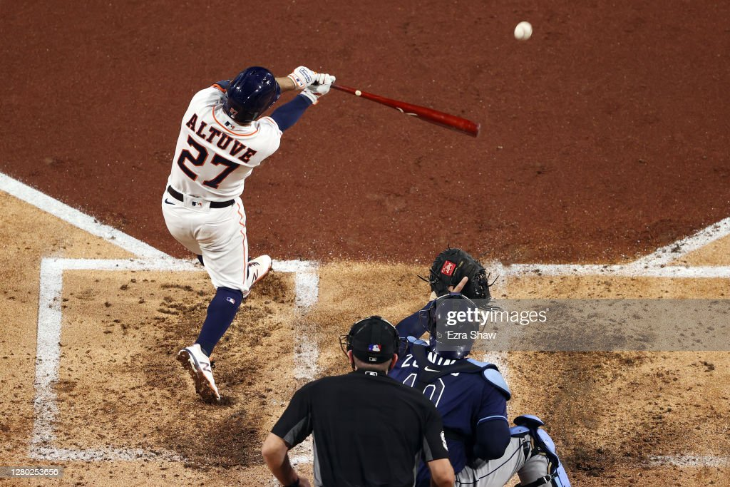 League Championship - Tampa Bay Rays v Houston Astros - Game Four : News Photo