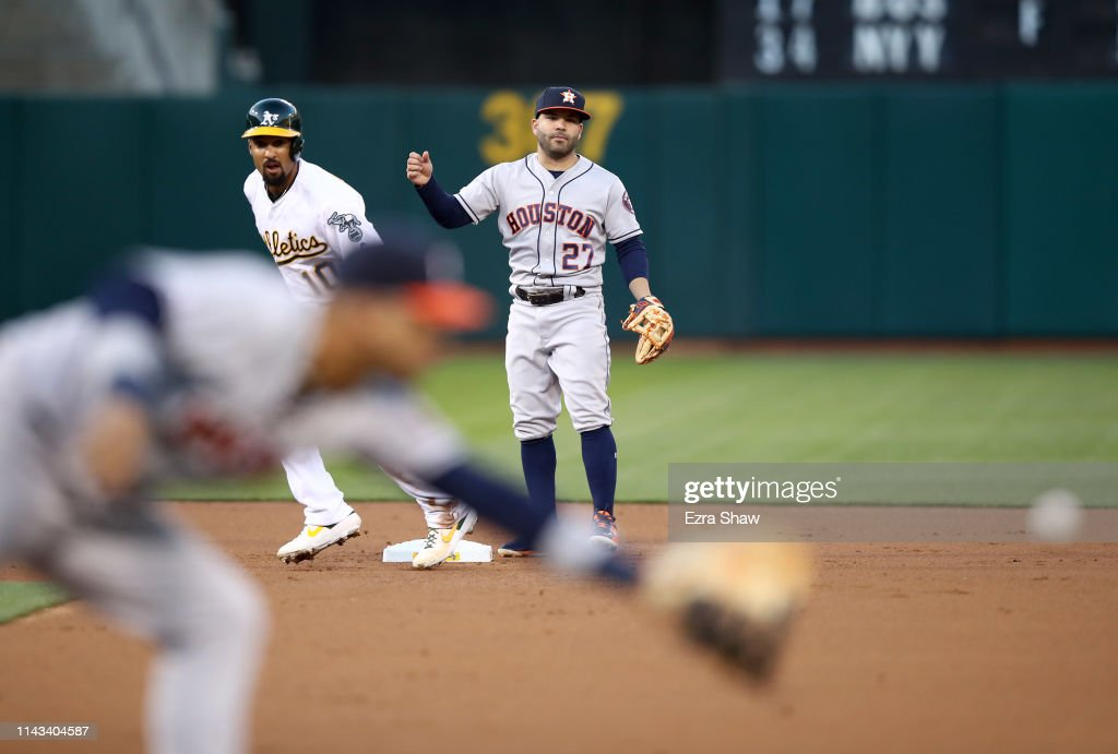 CA: Houston Astros v Oakland Athletics