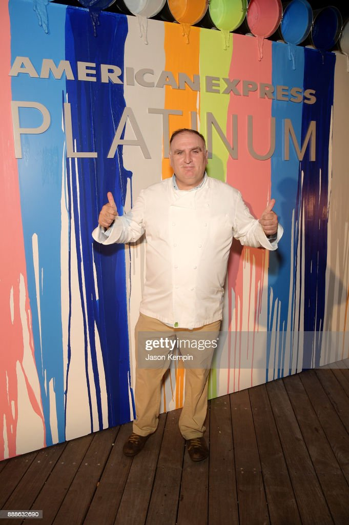 Jose Andres Attends Food Meets Art Hosted By Jose Andres