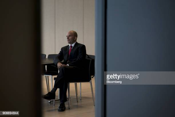 Jose Antonio GonzalezAnaya, Mexico's finance minister, sits before attending a joint news conference with Bill Morneau, Canada's finance minister,...