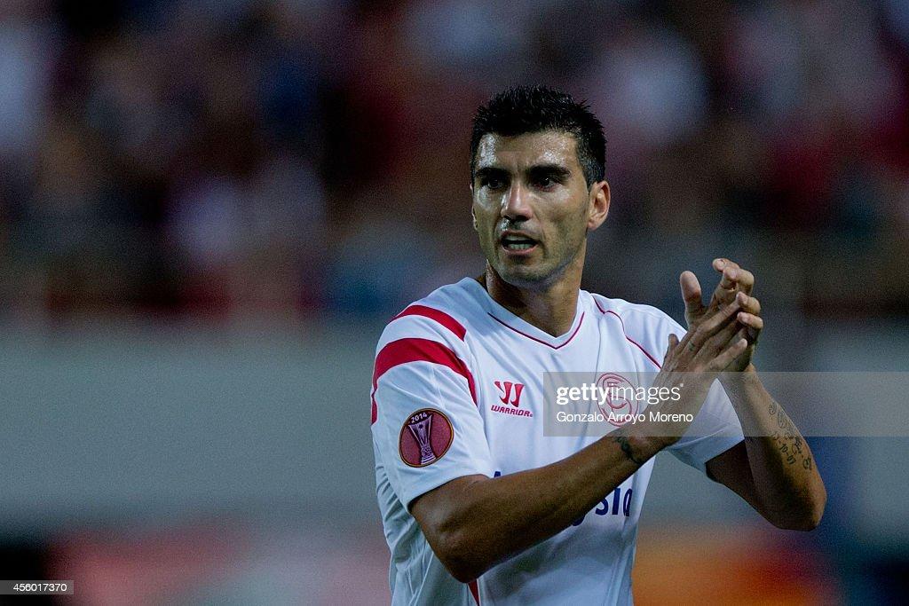 Sevilla FC v Feyenoord - UEFA Europa League : News Photo