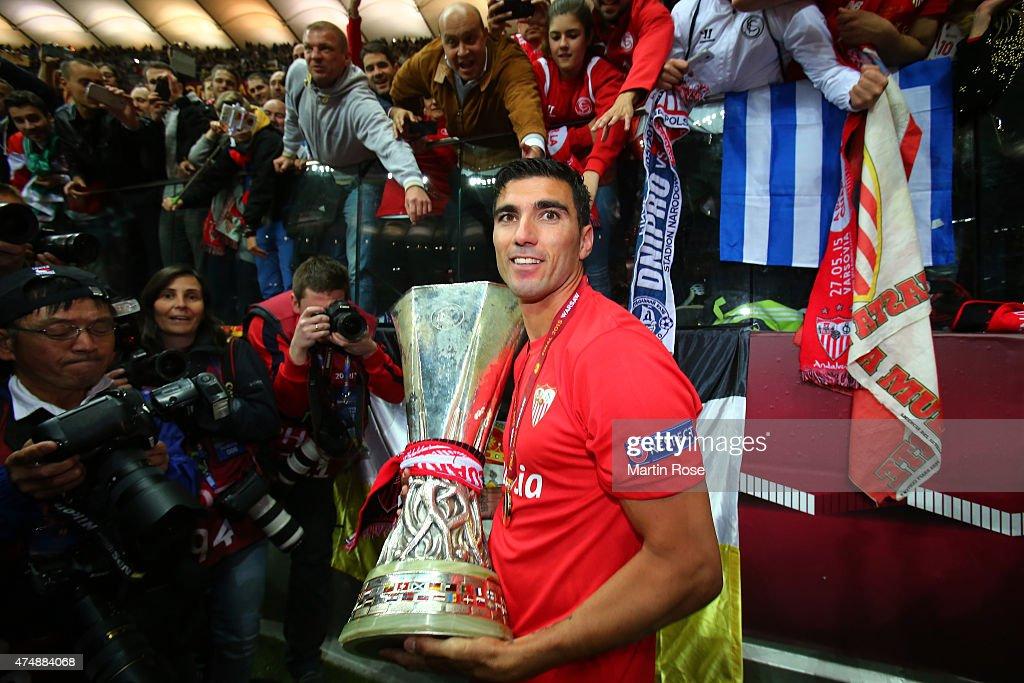 FC Dnipro Dnipropetrovsk v FC Sevilla - UEFA Europa League Final : News Photo