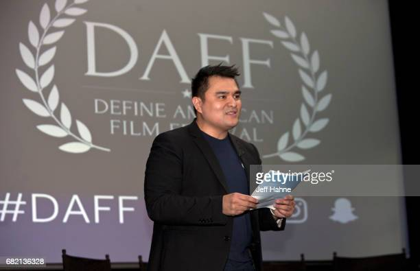 Jose Antonio Vargas at The Harvey B Gantt Center for African American Arts Culture on May 11 2017 in Charlotte North Carolina