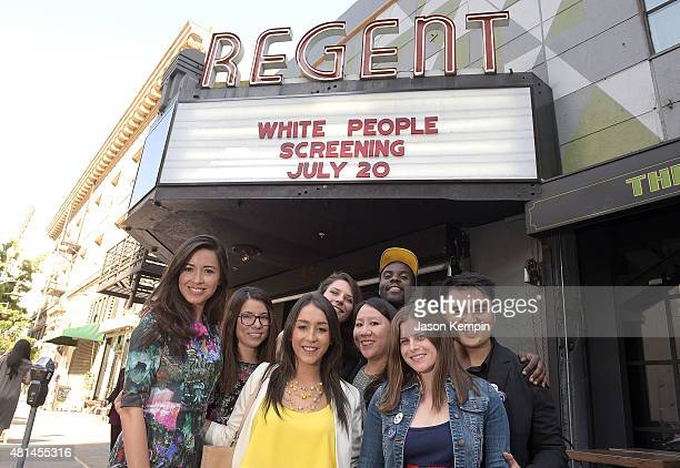 Jose Antonio Vargas attends a screening of White People at the Regent Theater on July 20 2015 in Los Angeles California