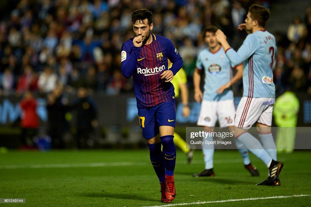 Celta de Vigo v Barcelona - Copa Del Rey : ニュース写真
