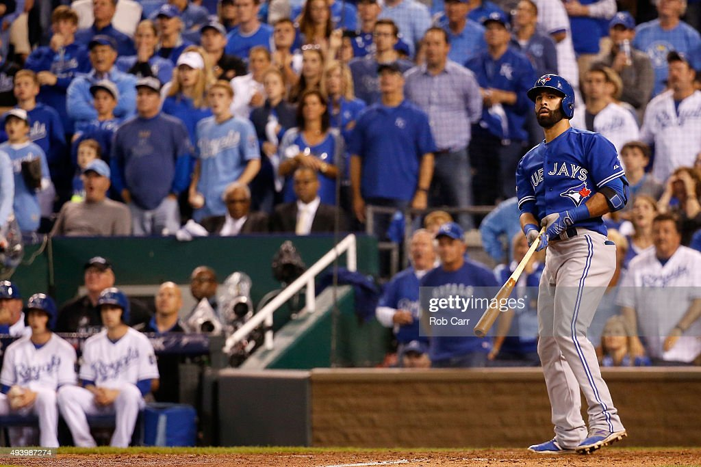 League Championship - Toronto Blue Jays v Kansas City Royals - Game Six : News Photo