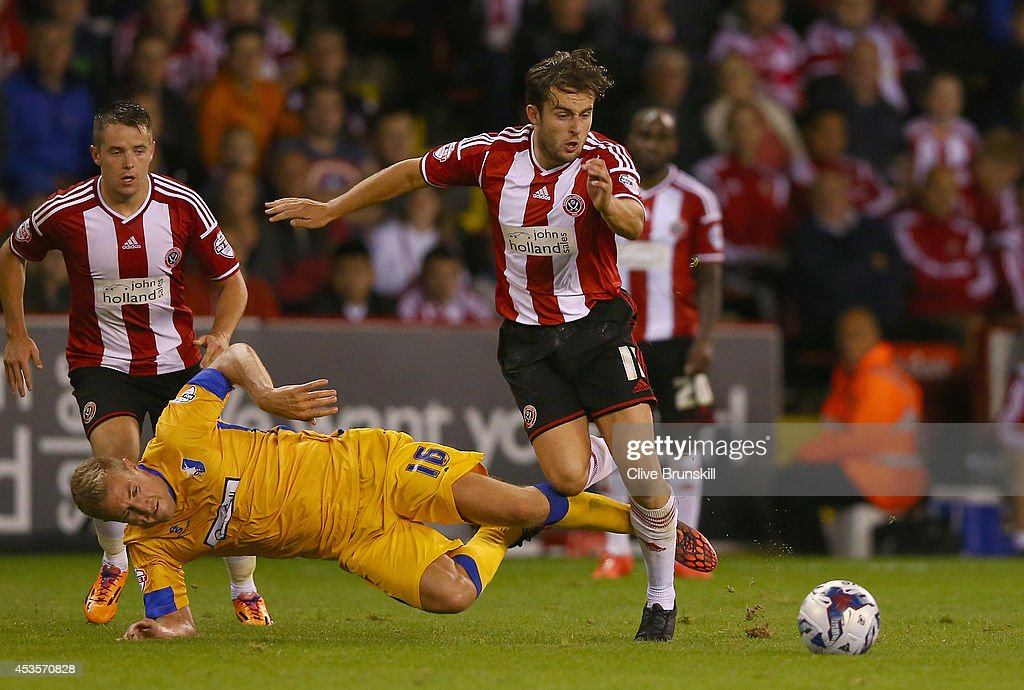 Sheffield United v Mansfield Town - Capital One Cup First Round