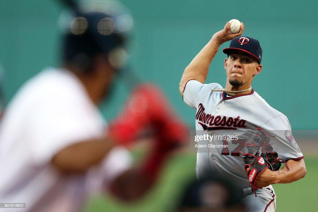 Minnesota Twins v Boston Red Sox : News Photo