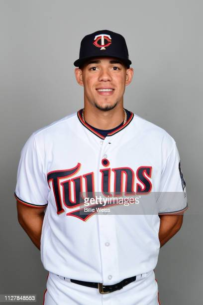 Jose Berrios of the Minnesota Twins poses during Photo Day on Friday February 22 2019 at CenturyLink Sports Complex in Fort Myers Florida