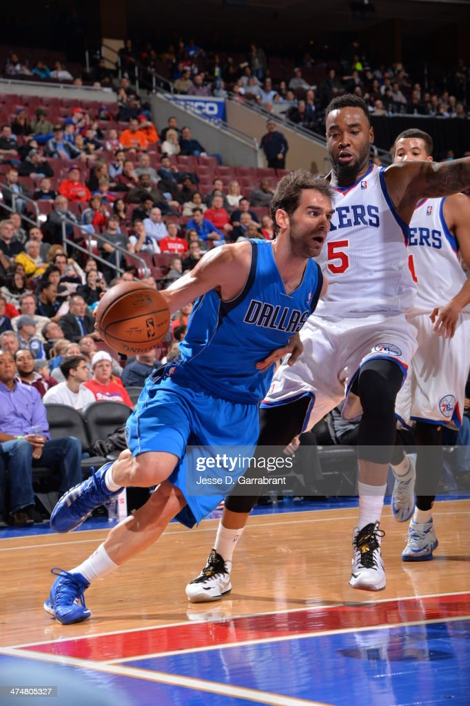 Dallas Mavericks v Philadelphia 76ers