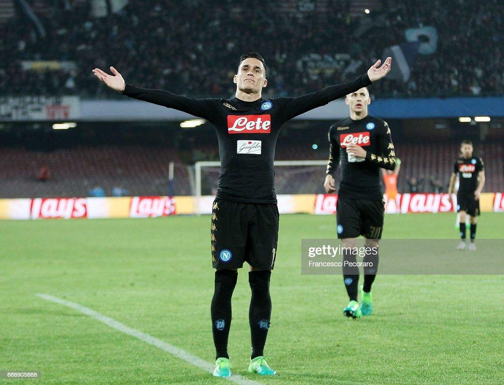 SSC Napoli v Udinese Calcio - Serie A : News Photo