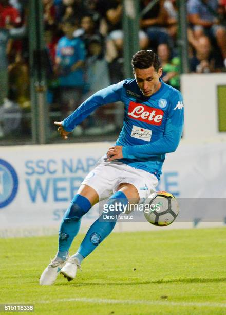 Jose Callejon of SSC Napoli during the PreSeason Friendly match between Trento and SSC Napoli at Stadio Briamasci on July 15 2017 in Trento Italy