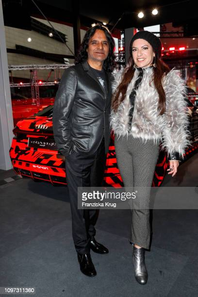 Jose Campos and Christine Neubauer at the Audi Berlinale Brunch during the 69th Berlinale International Film Festival at Berlinale Palace on February...