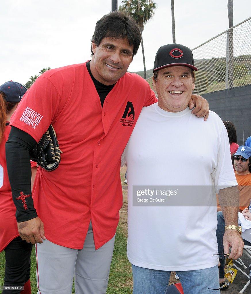 Steve Garvey Celebrity Softball Game : News Photo