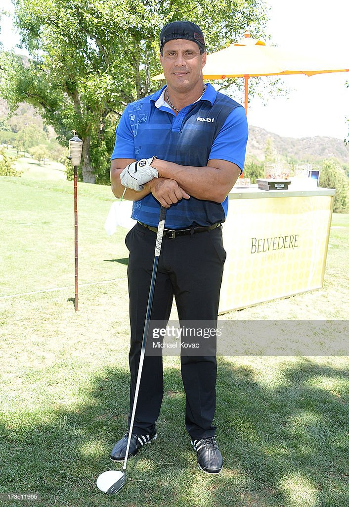 Jose Canseco attends The 4th annual Alex Thomas Celebrity Golf Classic presented by Belvedere at Mountain Gate Country Club on July 15, 2013 in Los Angeles, California.