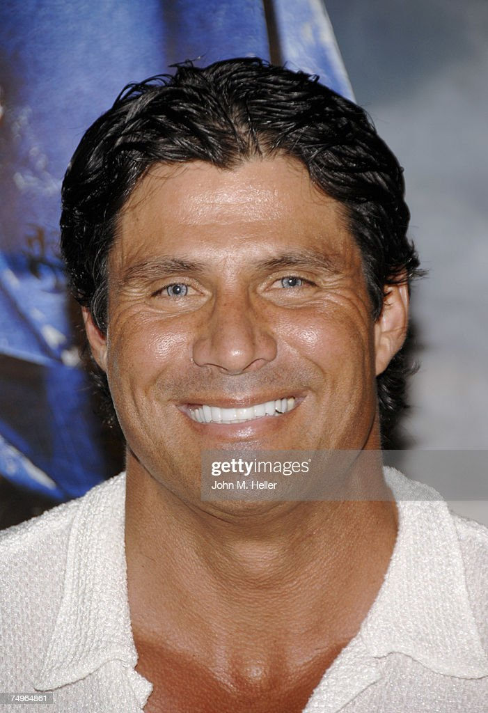 Jose Canseco attends the 'Transformers' release party at Area on June 29, 2007 in Los Angeles, California.