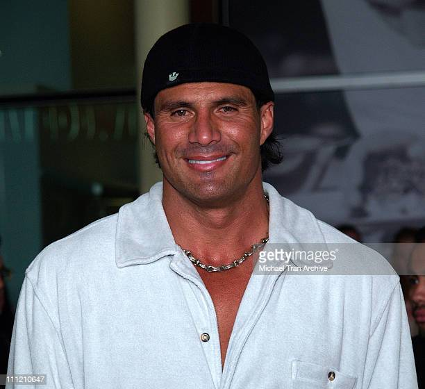 Jose Canseco during The Thing About My Folks Los Angeles Premiere Arrivals at ArcLight Theaters in Los Angeles California United States