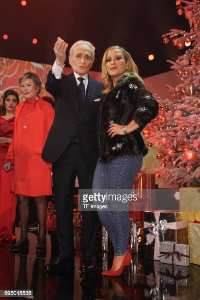 Jose Carrera and Anastacia attend the 23th Annual Jose Carreras Gala on December 14 2017 in Munich Germany