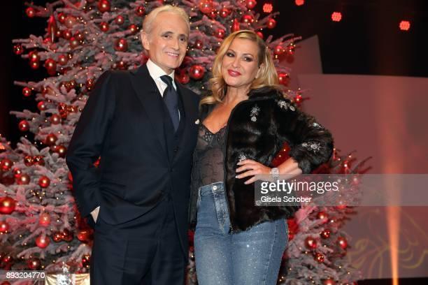 Jose Carreras Anastacia during the 23th annual Jose Carreras Gala at Bavaria Filmstudios on December 14 2017 in Munich Germany