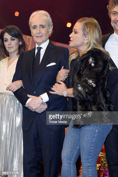 Jose Carreras Anastacia Lyn Newkirk attends the 23th Annual Jose Carreras Gala on December 14 2017 in Munich Germany