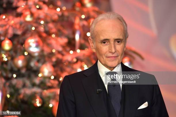 Jose Carreras during the 24th Annual Jose Carreras Gala at Bavaria Studios on December 12 2018 in Munich Germany