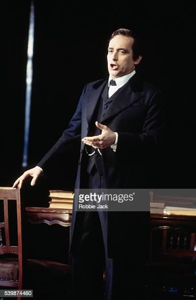 Jose Carreras performs in a Royal Opera production of Stiffelio | Location Royal Opera London England UK