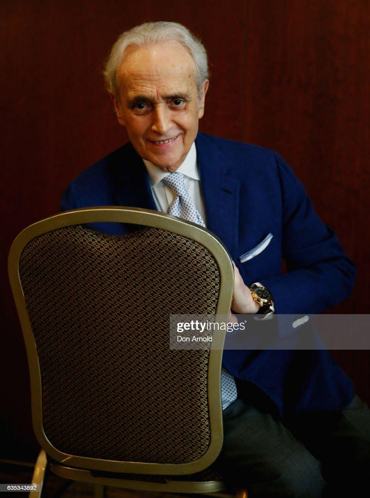 Jose Carreras Press Conference : Fotografía de noticias