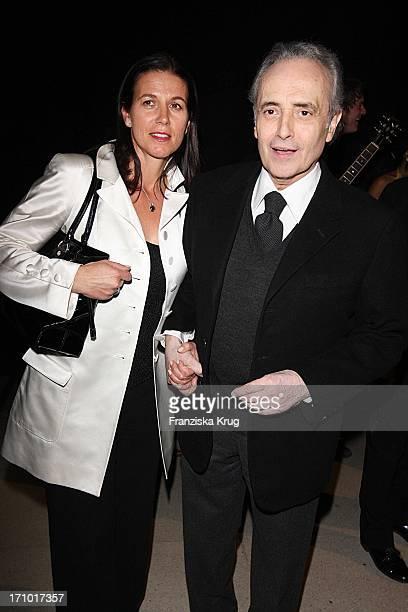 Jose Carreras Und Ehefrau Jutta Jäger Bei Der Aftershowparty Zur Ard Jose Carreras Gala In Den Messehallen In Leipzig