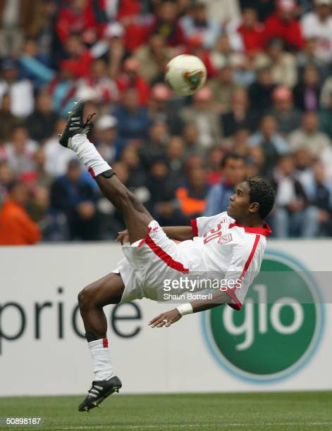 African Nations Cup Semi Final Tunisia V Nigeria Stock Photos And