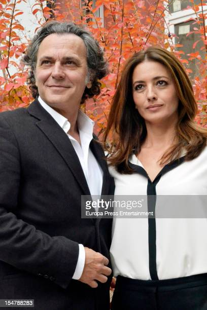 Jose Coronado and Jose Toledo attend the presentation of 'The Macallan Masters of Photography by Annie Leibovitz' on October 25 2012 in Madrid Spain