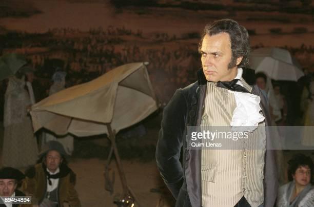 Jose Coronado at the shooting set of 'Goya in Bordeaux' The actor as the painter Francisco de Goya at the shooting set of Carlos Saura´s film