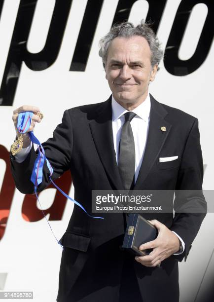 Jose Coronado attends deliver the Golden Medals to the Merit In Fine Arts 2016 on February 6 2018 in Malaga Spain