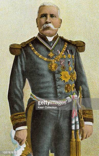 Jose de la Cruz Porfirio Diaz Mori Mexican War volunteer and French intervention hero an accomplished general and the President of Mexico...