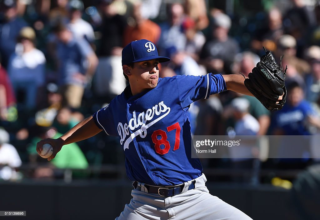 Los Angeles Dodgers v Oakland Athletics : News Photo