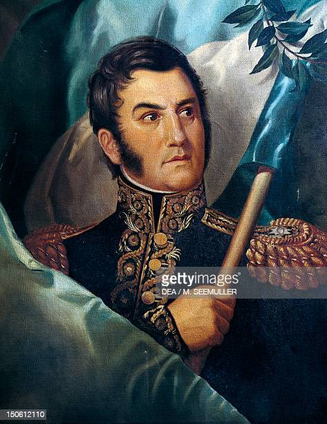 Jose de San Martin General and Argentinian politician Argentina 19th century