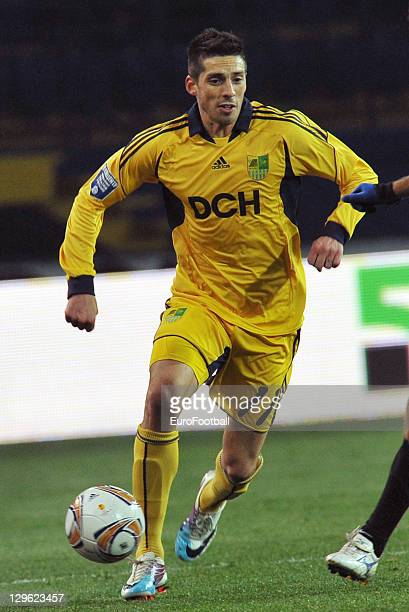 Jose Ernesto Sosa of FC Metalist Kharkiv in action during the Ukrainian Premier League match between FC Metalist Kharkiv and FC Chornomorets Odesa...