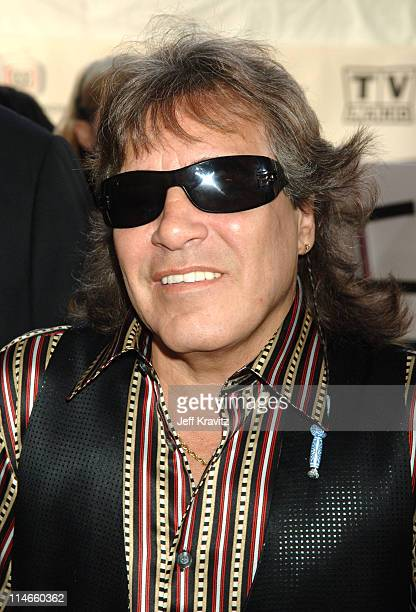 Jose Feliciano during 2006 TV Land Awards Red Carpet at Barker Hangar in Santa Monica California United States