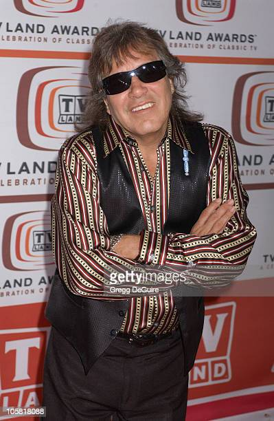 Jose Feliciano during 4th Annual TV Land Awards Arrivals at Barker Hangar in Santa Monica California United States