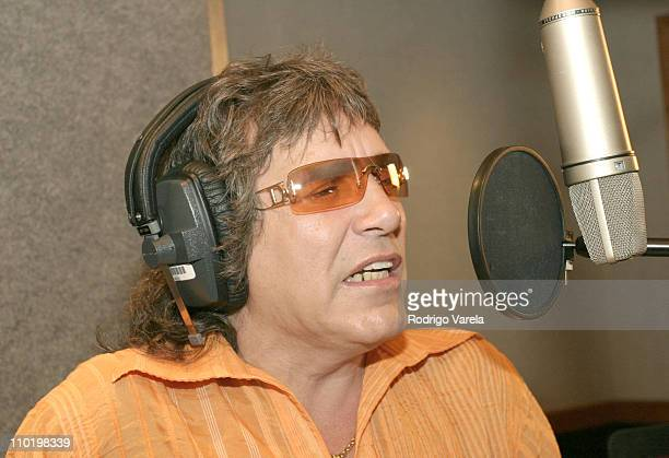 Jose Feliciano during Jose Feliciano Recording his New CD Amo a Mexico at Criteria Studios in North Miami Florida United States