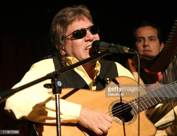 Jose Feliciano during Latin Pride Appreciation Night with Jose Feliciano at The Century Club in Century City California United States